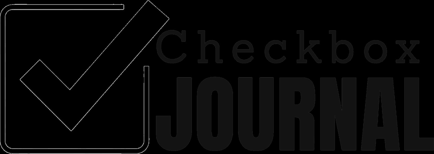 Checkbox Journal